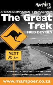 Book written by Fred de Vries about afrikaner emigrants in Australia