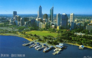 A view of Perth